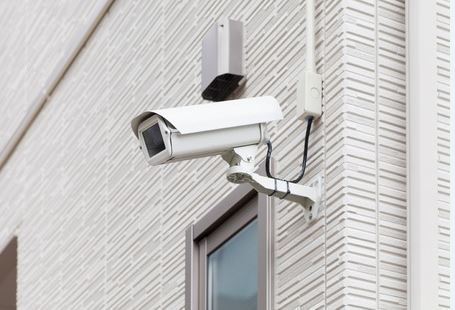 Video surveillance system for homes
