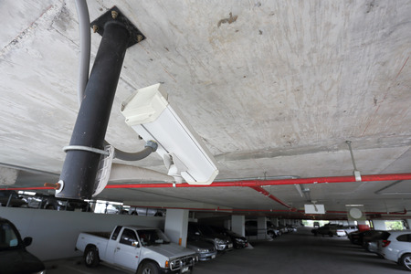 Video Surveillance for a Parking Lot